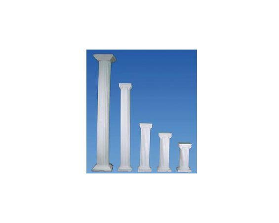 Display - White Columns