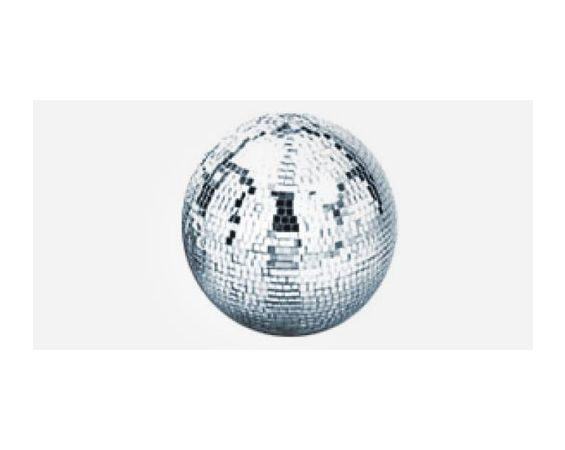 Disco / Mirror Ball with turner