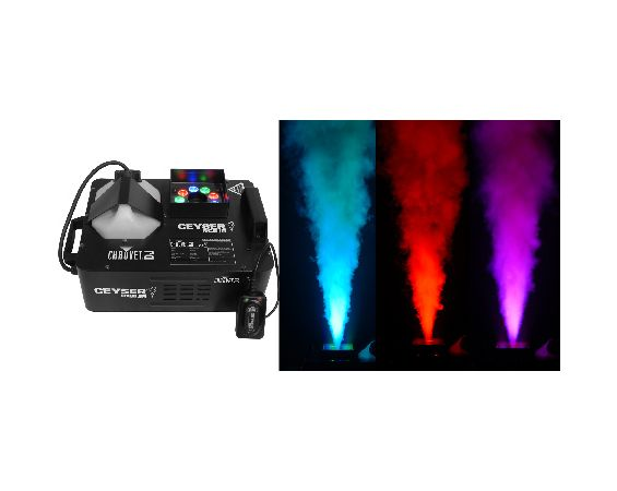 Light - Geyser Fog Machine / Uplight Combo