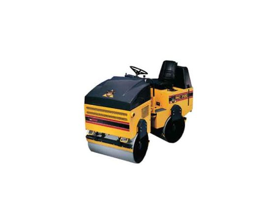 Compactor - Ride On Vibratory Roller