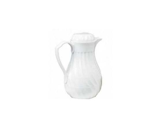 Pitcher - White Insulated