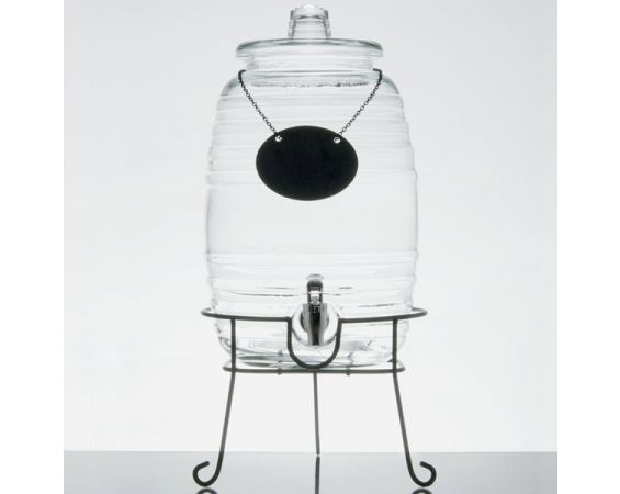 Beverage Dispenser - Glass Barrel