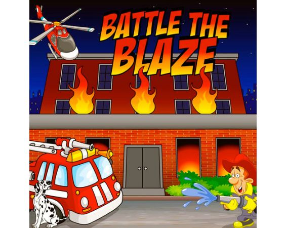 Battle the Blaze - Frame Game
