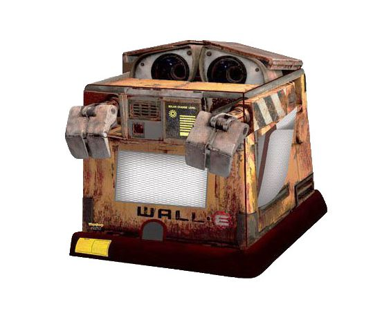 Combo Bounce/Slide - Wall-E