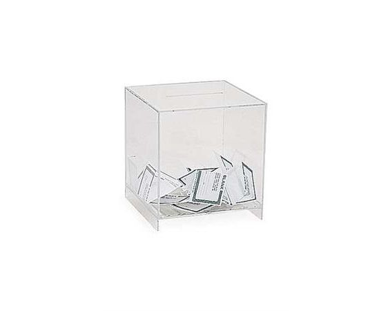 Clear Lucite Card Holder