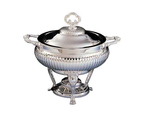 Chafer - Round Silver
