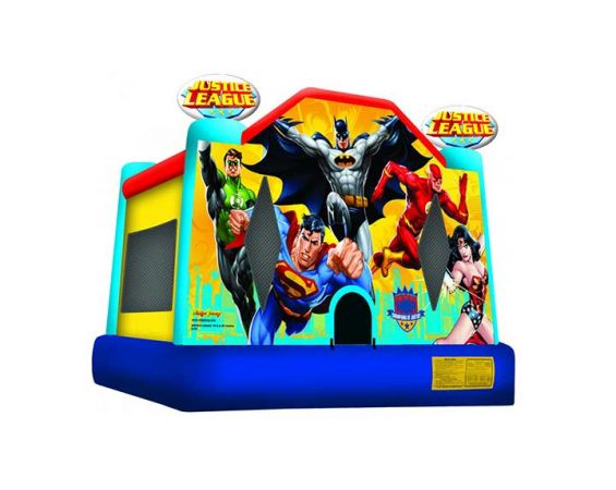 Bounce House - Justice League
