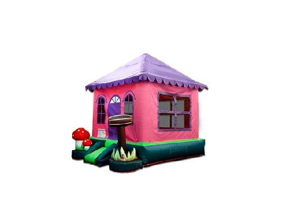 Bounce House - Pink Cottage