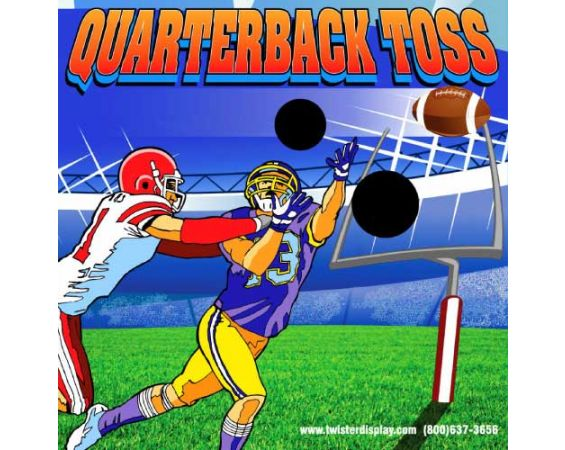 Quarterback Toss - Frame Game