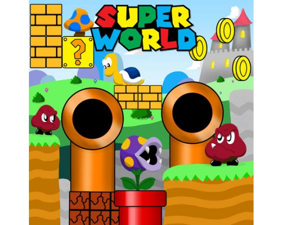 Super World - Frame Game