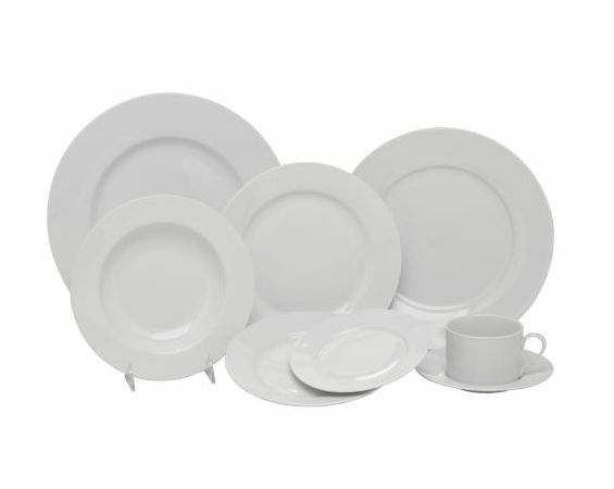 China - White Dinnerware
